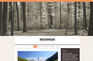 Reddinger Theme