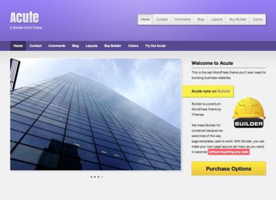 Acute Purple Theme