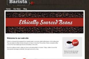 Barista Coffee Theme