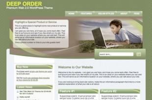 Deep Order Green Theme