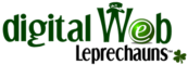 Digital Web Leprechaun Logo