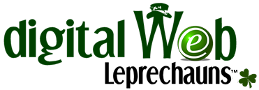 Digital Web Leprechaun Logos