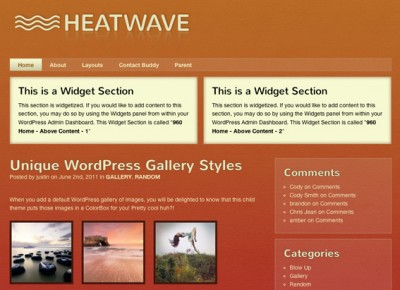 Heat Wave Theme