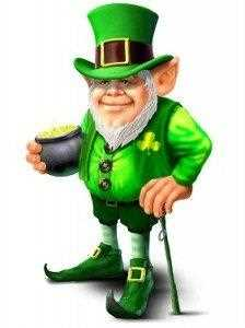 Leprechaun White Background