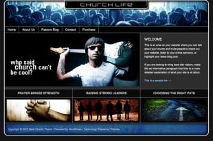 Life Series Church Theme