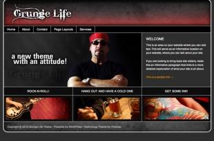 Life Series Grunge Theme