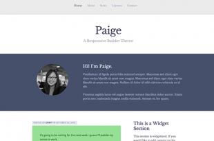 Paige Theme