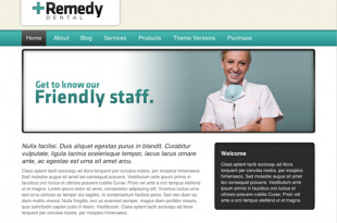 Remedy Dental Theme