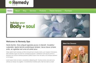Remedy Spa Theme