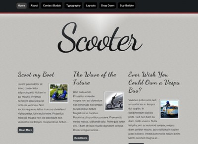 Scooter Theme