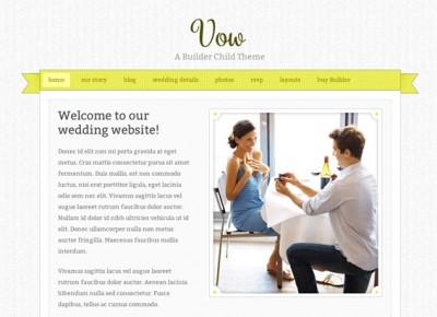 Vow Yellow Theme