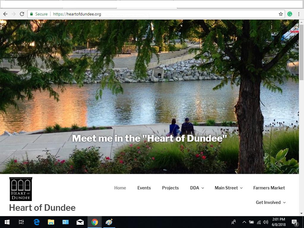 Heart of Dundee Website