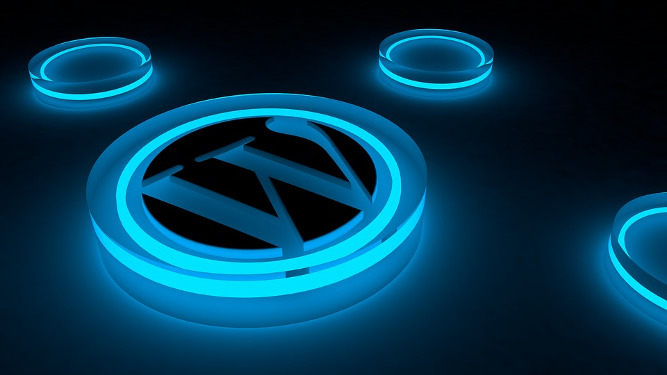 WordPess Logo Glow