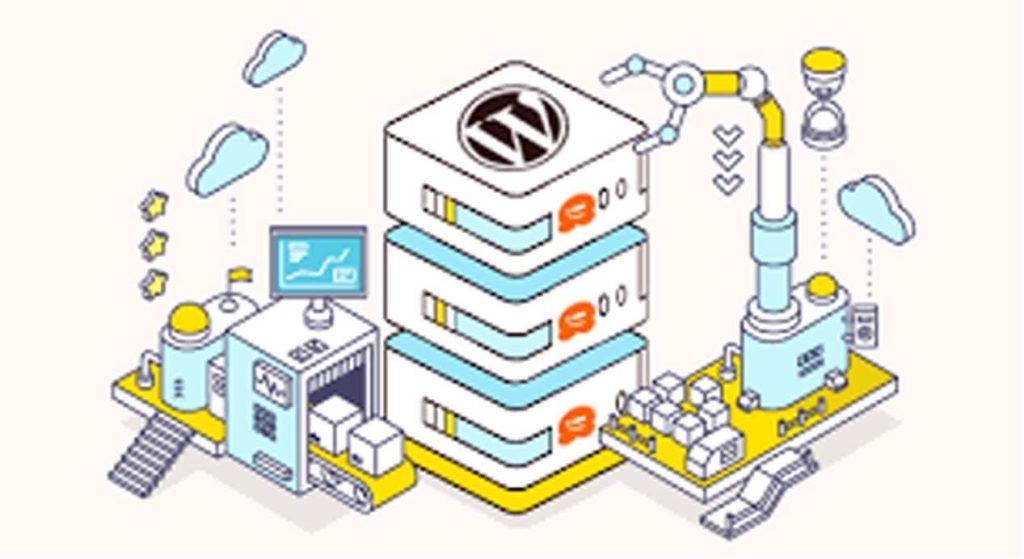 WordPress cartoon