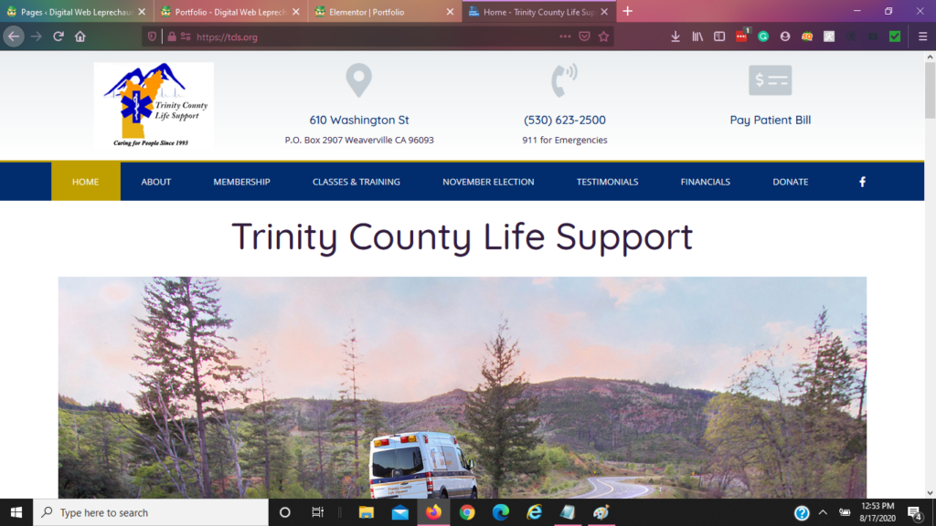 Trinity County Life Support