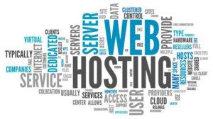 web hosting header